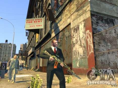 AK-47 для GTA 4 пятый скриншот