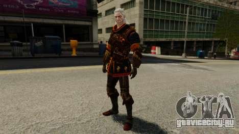 Геральт из Ривии v2 для GTA 4 четвёртый скриншот