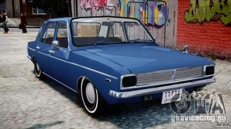 Peykan 1348 1970 для GTA 4 вид слева