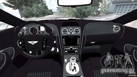 Bentley Continental GT Premier v1.0 для GTA 4 вид сзади