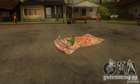 Flying Carpet v.1.1 для GTA San Andreas вид слева