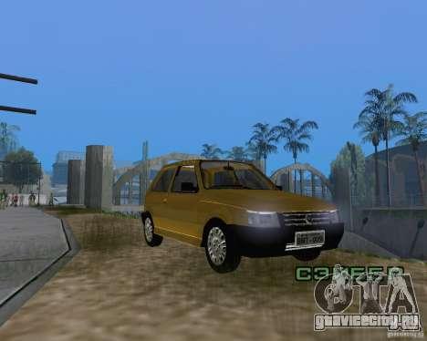 Fiat Mille Fire 1.0 2006 для GTA San Andreas вид справа