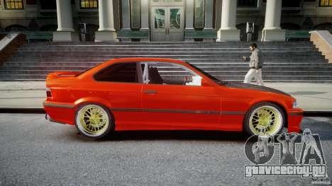 BMW E36 Alpina B8 для GTA 4 вид сбоку