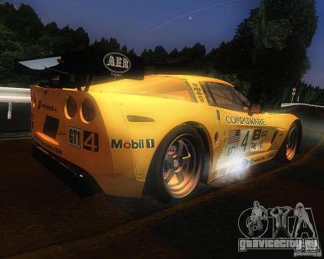 Chevrolet Corvette Drift для GTA San Andreas вид справа