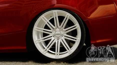 Audi RS5 2012 для GTA 4 вид сзади