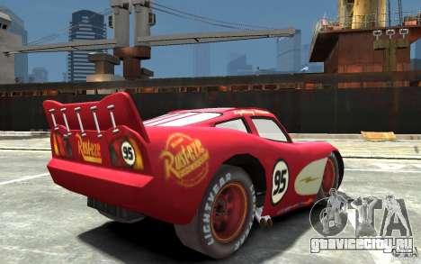 Lighting McQueen для GTA 4