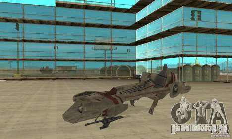 Star Wars speedbike для GTA San Andreas