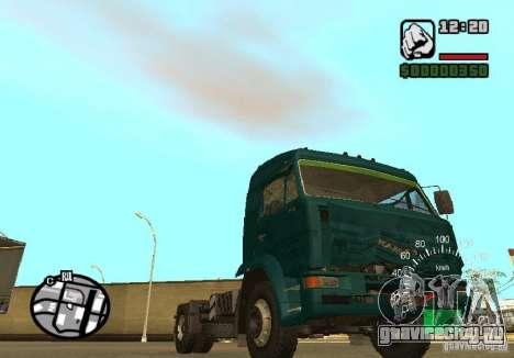 Kamaz 5460 для GTA San Andreas вид справа