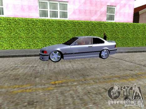 BMW M3 E36 Light Tuning для GTA San Andreas вид сзади