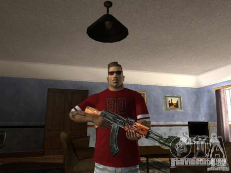 AK HD для GTA San Andreas