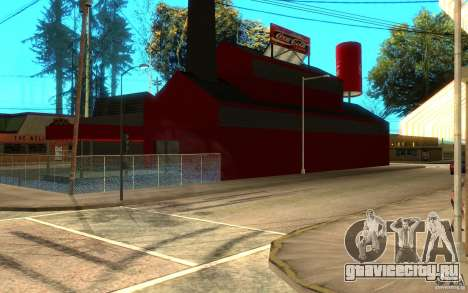 Фабрика Кока Колы для GTA San Andreas второй скриншот
