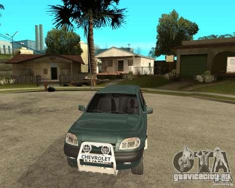 NIVA Chevrolet для GTA San Andreas вид сзади
