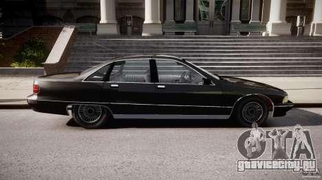 Chevrolet Caprice FBI v.1.0 [ELS] для GTA 4 вид слева
