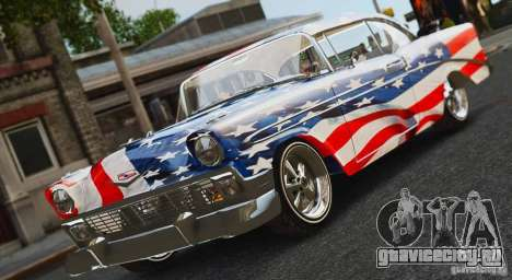 Chevrolet Bel Air Light Custom 1956 для GTA 4