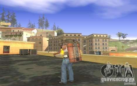 Джетпак в стиле СССР для GTA San Andreas седьмой скриншот