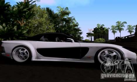 Mazda RX-7 для GTA San Andreas вид сбоку
