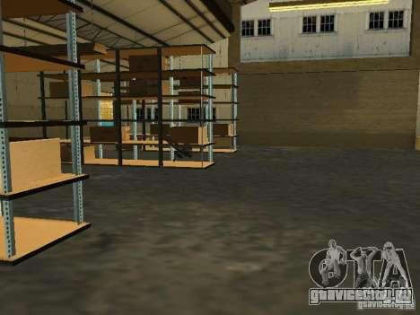 Оживление военной базы в доках для GTA San Andreas восьмой скриншот