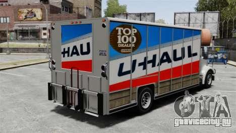 Грузоперевозки U-Haul для GTA 4 второй скриншот