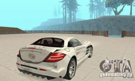 Mercedes-Benz McLaren V2.3 для GTA San Andreas колёса