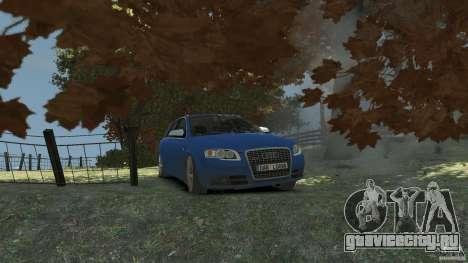Audi S4 Avant для GTA 4 вид сбоку