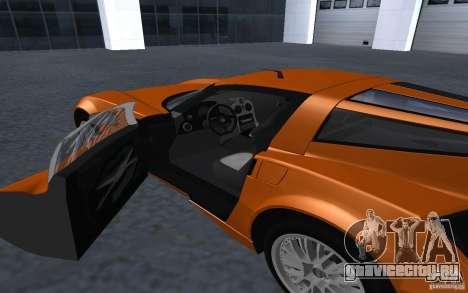 Spada Codatronca TS Concept 2008 для GTA San Andreas вид справа
