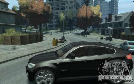 BMW X6 для GTA 4 вид слева