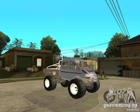 ГАЗ КержаК (Болотоход) для GTA San Andreas вид справа