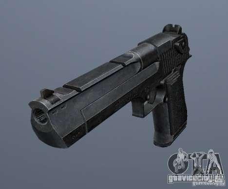 Desert Eagle - New model для GTA San Andreas второй скриншот