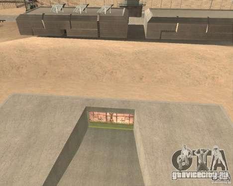 Пневматические ворота в зоне 69 для GTA San Andreas второй скриншот