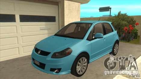 Suzuki SX4 Sportback 2011 для GTA San Andreas