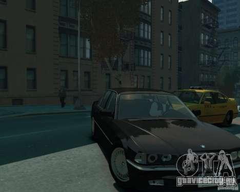 BMW 750i E38 1998 для GTA 4 вид справа
