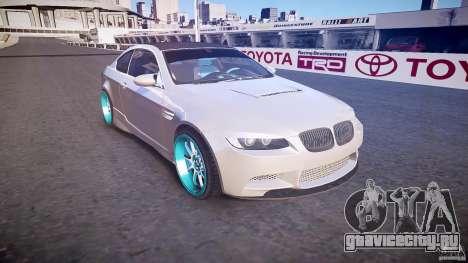 BMW E92 для GTA 4 вид изнутри