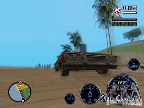 Speedometer GT для GTA San Andreas