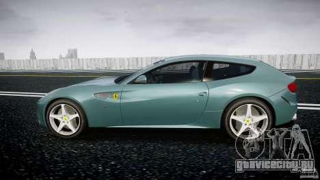 Ferrari FF 2012 для GTA 4 вид слева
