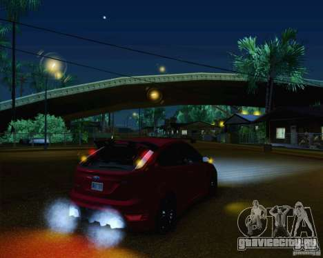 Ford Focus RS для GTA San Andreas салон