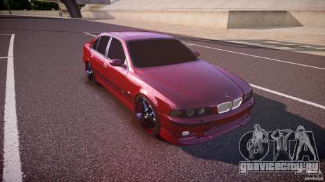 BMW M5 E39 Hamann [Beta] для GTA 4 вид изнутри