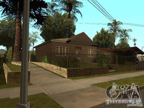 Ретекстур домов на Groove Street для GTA San Andreas четвёртый скриншот