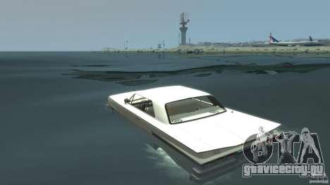 Voodoo Boat для GTA 4 вид сзади слева