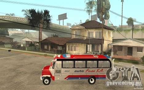 Kodiak B70 - Autofusa Colombia для GTA San Andreas вид слева