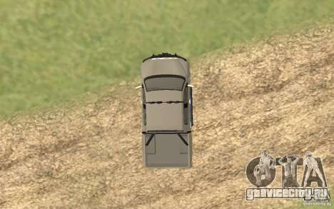 Toyota Tundra 4x4 для GTA San Andreas вид сзади