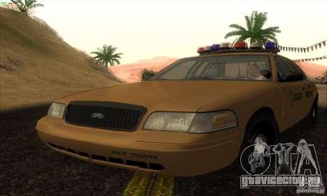 Ford Crown Victoria Kansas Police для GTA San Andreas