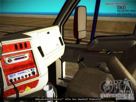 Kenworth T2000 v 2.5 для GTA San Andreas двигатель