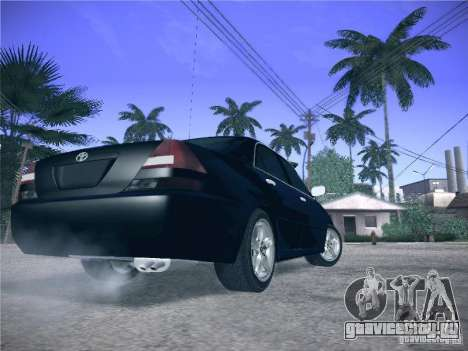 Toyota Mark II Grande для GTA San Andreas вид сзади