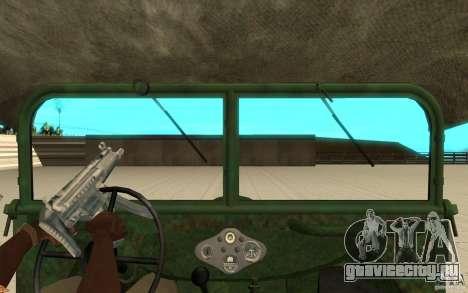 ГАЗ-64 скин 1 для GTA San Andreas вид справа