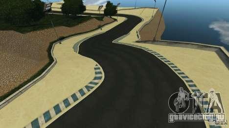 Laguna Seca [HD] Retexture для GTA 4 десятый скриншот