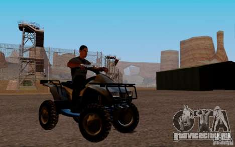 Quadbike from BF 3 для GTA San Andreas