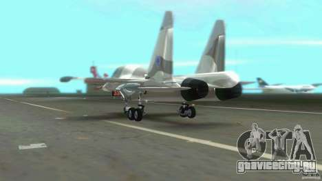 VC Air Force для GTA Vice City вид сзади