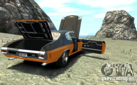 Chevrolet Chevelle SS 1970 для GTA 4 двигатель