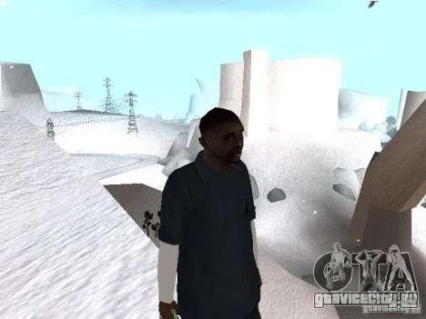 Snow MOD 2012-2013 для GTA San Andreas третий скриншот