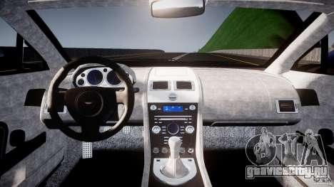 Aston Martin V8 Vantage V1.0 для GTA 4 вид справа